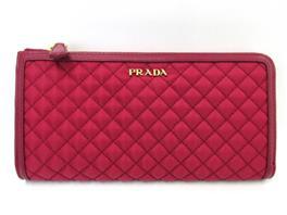 PRADA(プラダ プラダ L型ZIP長財布 1M1183IBIS