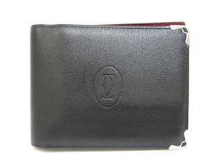 カルティエ (Cartier) マスト ドゥカルティエ 二つ折財布 L3001368