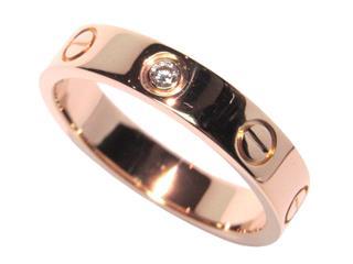 カルティエ (Cartier) ミニラブリング1Pダイヤ