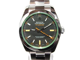 ロレックス (ROLEX) ミルガウス  腕時計 ウオッチ 116400GV