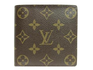 ルイヴィトン (LOUIS VUITTON) ポルトフォイユ・マルコ 二つ折財布 M61675
