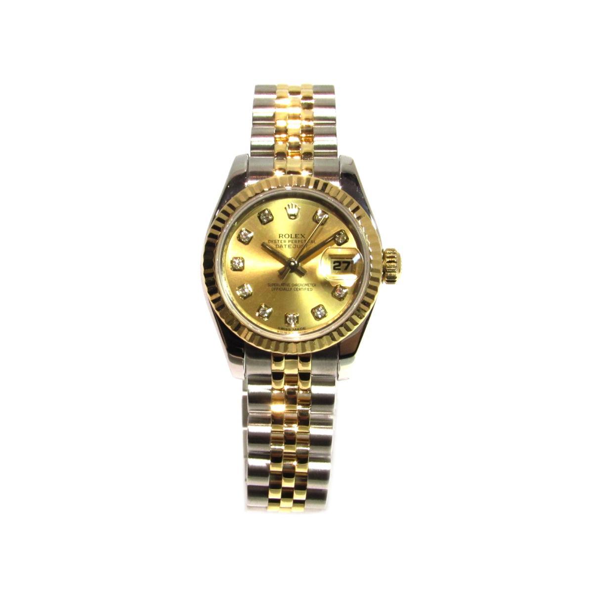 ROLEX 時計 179173G デイトジャスト/レディース腕時計/人気/おすすめ