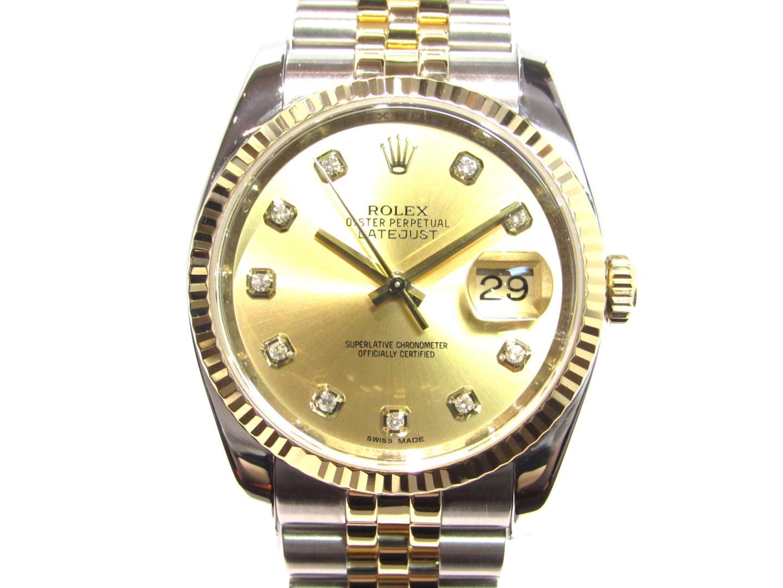 デイトジャスト 腕時計/メンズ/お洒落
