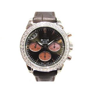 オメガ (OMEGA) デ・ビルコーアクシャルクロノグラフベゼルダイヤ 腕時計 ウォッチ 422.18.35.50.13.001