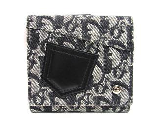 クリスチャン・ディオール (Dior) 二つ折財布 Wホック財布