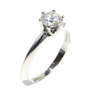 ティファニー (TIFFANY&CO) ダイヤモンド リング 指輪