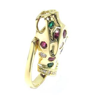 ジュエリー (JEWELRY) ダイヤモンド マルチカラー リング 指輪