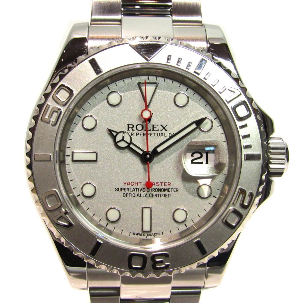 ヨットマスター ロレジウム 腕時計/メンズ