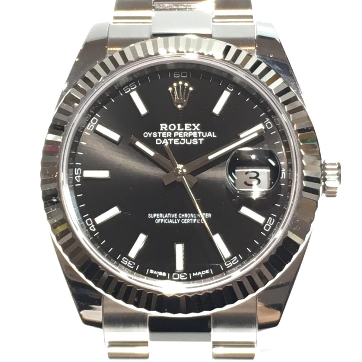 デイトジャスト41 腕時計/メンズ