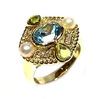 ジュエリー (JEWELRY) ブルートパーズリング 指輪