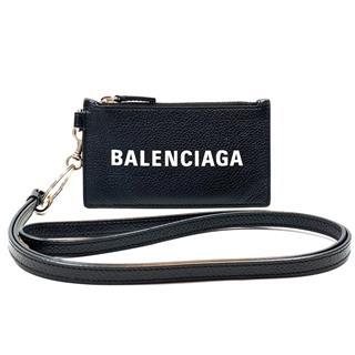 バレンシアガ (BALENCIAGA) キーリング付き コインケース カードケース 小銭入れ 594548