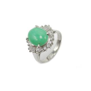 ジュエリー (JEWELRY) ヒスイダイヤモンド リング 指輪