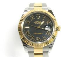 ROLEX(ロレックス デイトジャスト2 ウォッチ 腕時計