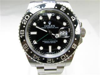 ロレックス (ROLEX) GMTマスター2 SS 腕時計 ウォッチ 116710LN