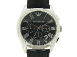 EMPORIO ARMANI(エンポリオアルマーニ クロノグラフ ウォッチ 腕時計