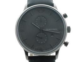 EMPORIO ARMANI(エンポリオアルマーニ エンポリオアルマーニ 【訳あり】クラシック クロノグラフ ウォッチ 腕時計 AR0388