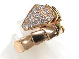 BVLGARI(ブルガリ セルペンティリング ダイヤモンド