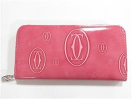 Cartier(カルティエ ハッピーバースディ ラウンド長財布 長財布
