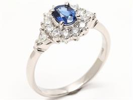 JEWELRY(ジュエリー サファイア ダイヤモンド リング 指輪