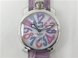 GaGa MILANO(ガガミラノ マヌアーレ48mm 腕時計ウォッチ