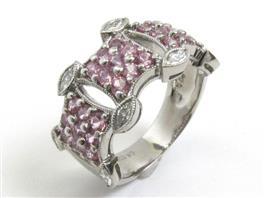 JEWELRY(ジュエリー ピンクサファイア ダイヤモンドリング