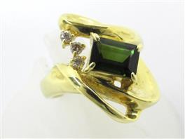 JEWELRY(ジュエリー ジュエリー トルマリン ダイヤモンドリング