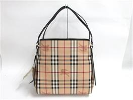BURBERRY(バーバリー バーバリー HAYMARKET COLOURS SMALL CANTERBERRY トートバッグ 3788700 37887000010T