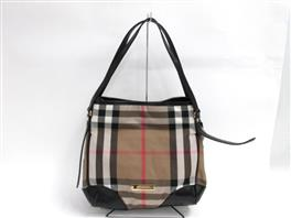 BURBERRY(バーバリー バーバリー BRIDLE HOUSE CHECK SMALL CANTERBERRYトートバッグ 3831797 38317970010T