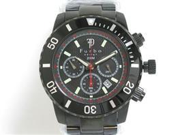 Furbo design(フルボデザイン フルボデザイン ソーラー IL SOLE ウォッチ 腕時計 FS401BBK