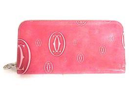 Cartier(カルティエ ハッピーバースディ ラウンド長財布