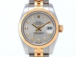 ROLEX(ロレックス デイトジャスト 10Pダイヤ 腕時計 ウォッチ