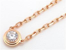 Cartier(カルティエ ディアマン レジェ ドゥ 1Pダイヤ ネックレス