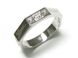 GUCCI(グッチ 8オクタゴナル 8Pダイヤモンド リング 指輪