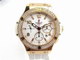 HUBLOT(ウブロ ビッグバン 2重ベゼルダイヤ 裏スケ 腕時計