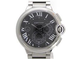 Cartier(カルティエ バロンブルー クロノ 裏スケ ウォッチ 腕時計