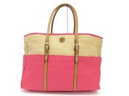 TORY BURCH(トリーバーチ NATURAL BOUGAINVILLE LYDIA TOTE トートバッグ