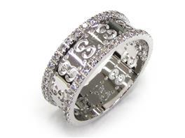 GUCCI(グッチ アイコンリング ダイヤ 指輪