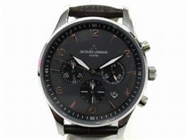 JACQUES LEMANS(ジャックルマン ジャックルマン クロノグラフ 腕時計 ウォッチ 11654F