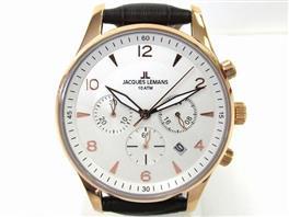 JACQUES LEMANS(ジャックルマン ジャックルマン クロノグラフ 腕時計 ウォッチ 11654H
