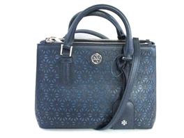 TORY BURCH(トリーバーチ ROBINSON FLORAL PERFORATED トートバッグ