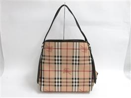 BURBERRY(バーバリー HAYMARKET COLOURS SMALL CANTERBERRY トートバッグ 3741175