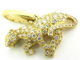 Cartier(カルティエ カルティエ チャームパンテールパヴェ ダイヤモンド