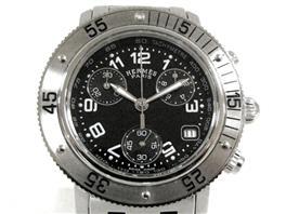 HERMES(エルメス クリッパークロノ ウォッチ 腕時計 ボーイズ