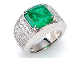 JEWELRY(ジュエリー ジュエリー エメラルド ダイヤモンド リング 指輪