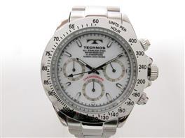 TECHNOS(テクノス クロノグラフ 腕時計 新品