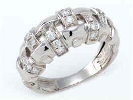 TIFFANY&CO(ティファニー ウォーブンリング ダイヤ 指輪