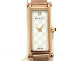 GUCCI(グッチ バングル レディース 時計 1Pダイヤモンド