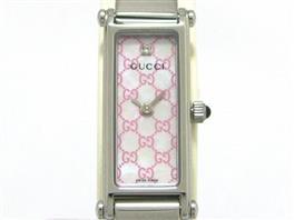 GUCCI(グッチ バングル レディース 時計 1Pダイヤモンド 時計