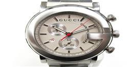 GUCCI(グッチ グッチ Gクロノ ウォッチ 腕時計 メンズ YA101339MSS-SIL