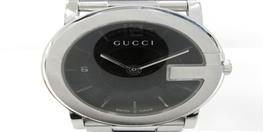 GUCCI(グッチ グッチ Gラウンド ウォッチ 腕時計 メンズ YA101405MSS-BLK